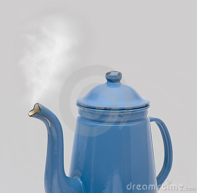 Coffee Can Madam Blue Steam