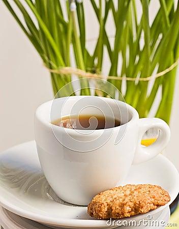 Coffee cap.