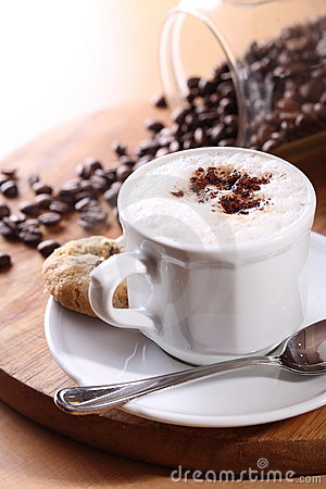 Free Coffee Cappuccino Stock Image - 3979271