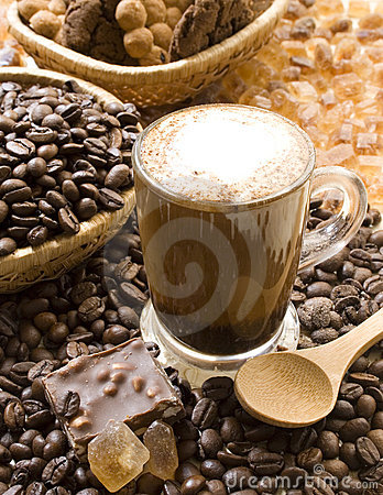 Free Coffee Cappuccino Royalty Free Stock Images - 4434619