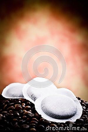 Coffee capsule blend
