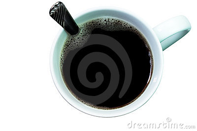 Coffee (with clipping path)