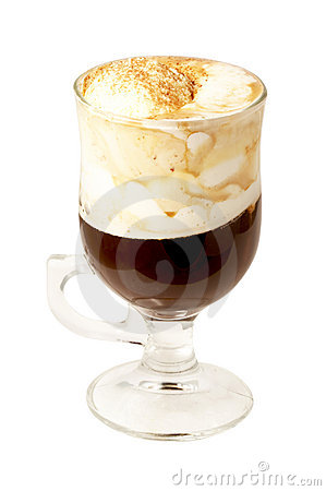 Coffee cocktail in glass #15