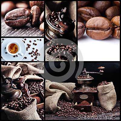 Free Coffee Collage 1 Stock Image - 28131231