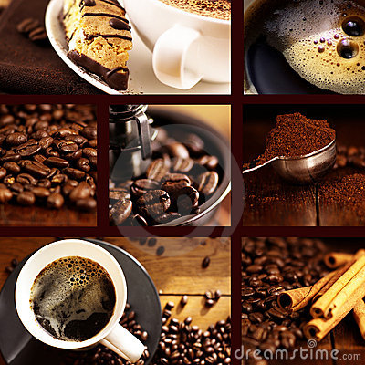Free Coffee Collage Stock Photos - 10426193