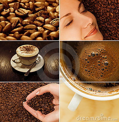 Free Coffee Collage Stock Photos - 7628023
