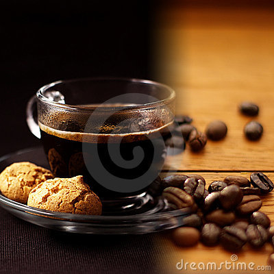Free Coffee Collage Royalty Free Stock Photo - 9582625