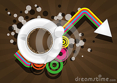 Coffee color graphic