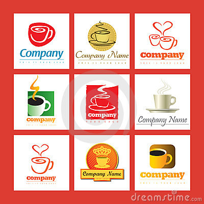 Coffee company logos