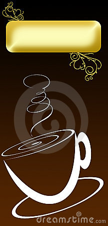 Coffee Cover Menu Stock Photo - Image: 18185350