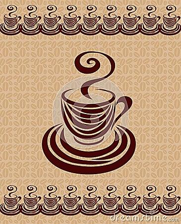 Coffee cup card 3.
