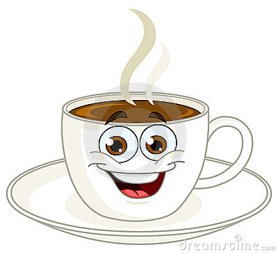 Coffee Cup Cartoon Stock Photo - Image: 20670220