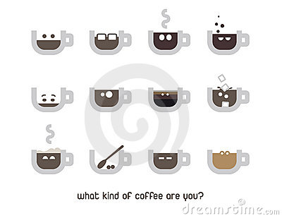 Coffee cup emotion