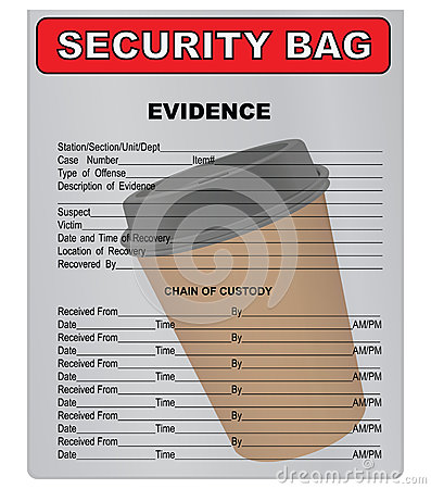Coffee Cup - material evidence