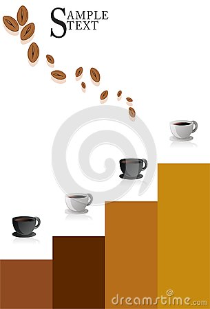 Coffee Cup Modern Poster