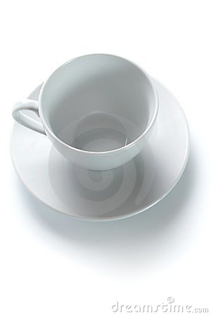 Coffee cup and a saucer