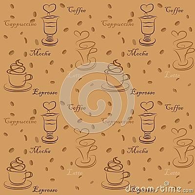 Coffee cup seamless