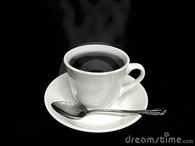 coffee cup and spoon
