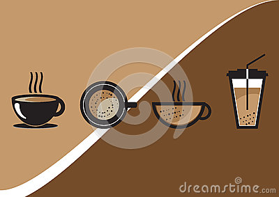 Coffee Cup Vector Set