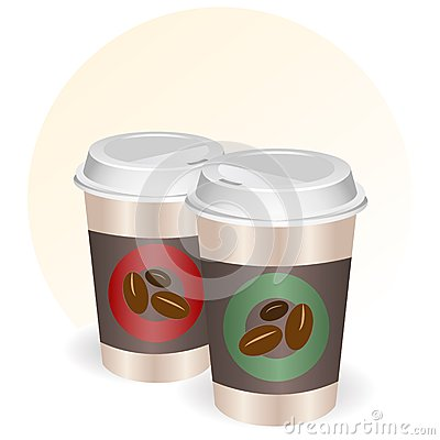 Coffee cups to go