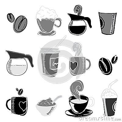 Coffee design elements