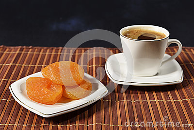 Coffee & dried apricots
