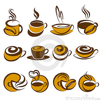 Coffee. Elements for design.