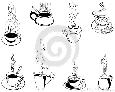 Coffee. Elements for design