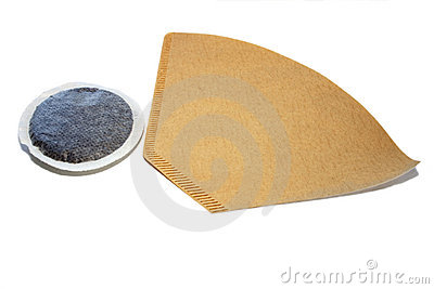 Coffee filter and pad