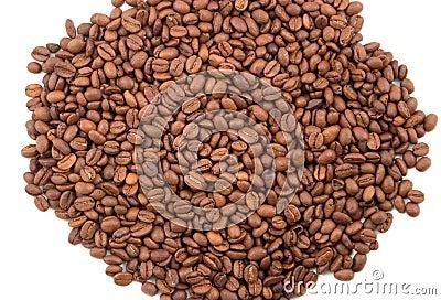 Coffee fragrant grains