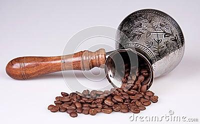 Coffee grains,