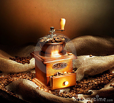Free Coffee Grinder Royalty Free Stock Photo - 12378245