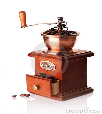 Free Coffee Grinder Stock Images - 12384114