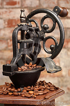 Free Coffee Grinder Royalty Free Stock Image - 3099476