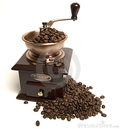 Free Coffee Grinder Royalty Free Stock Photography - 391987