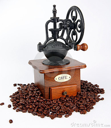 Coffee-grinder with coffee bins