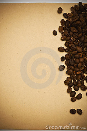 Free Coffee Grunge Paper Background Stock Images - 6389554