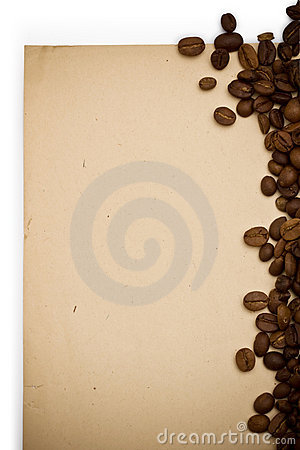 Free Coffee Grunge Paper Background Royalty Free Stock Image - 6489196