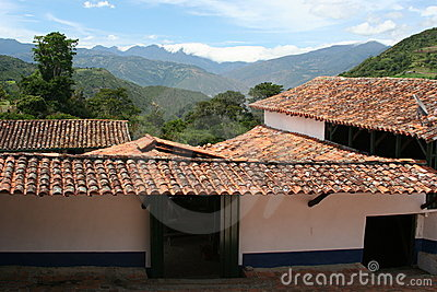 Coffee hacienda, Venezuela
