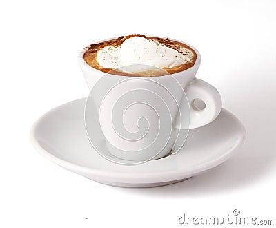 Coffee with ice-cream