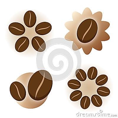 Coffee icon logo element