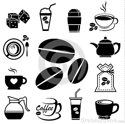 Free Coffee Icon Set 01 Royalty Free Stock Photo - 41948195