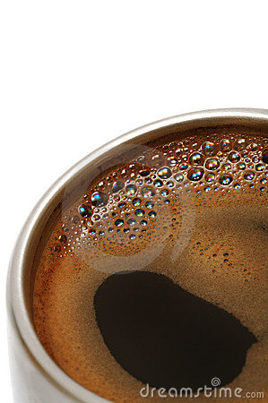 Free Coffee In A Metal Cup Stock Photos - 3988213