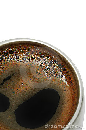 Free Coffee In A Metal Cup Royalty Free Stock Image - 4335126
