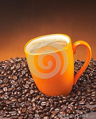 Free Coffee In A Mug Royalty Free Stock Photo - 3559295