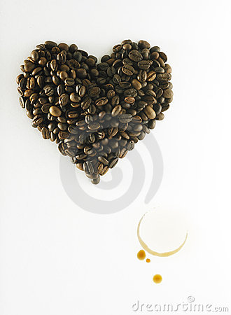 Free Coffee In Love Royalty Free Stock Photo - 17788205