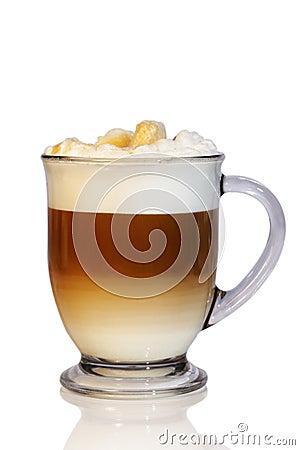 Coffee Latte Glass Mug