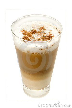 Free Coffee Latte In A Glass Royalty Free Stock Photos - 4677638