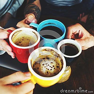 Free Coffee Lifestyle Beverage Friendship Mug Meeting Concept Royalty Free Stock Photos - 75689358