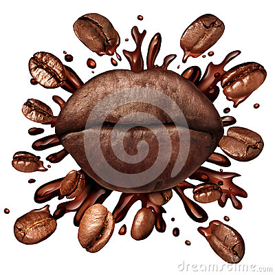 Free Coffee Lips Concept Royalty Free Stock Image - 65238696